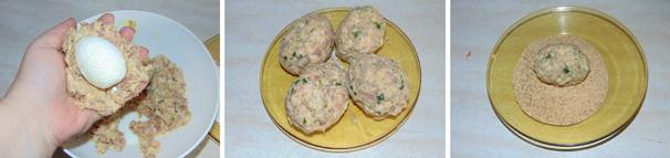 uova alla scozzese preparazione