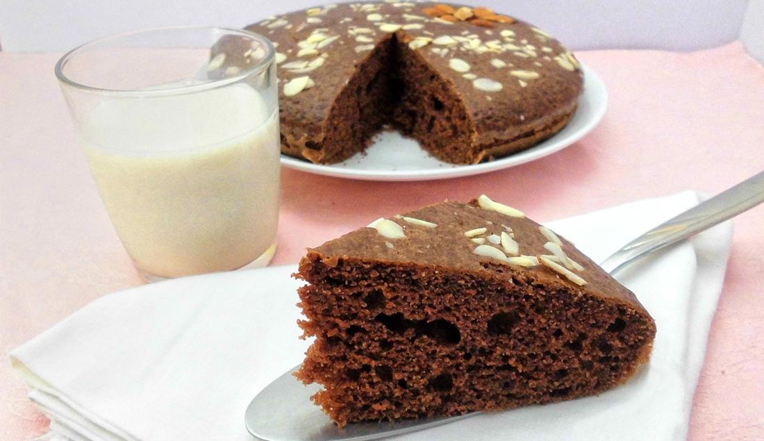 ricetta torta al cacao e latte di mandorla