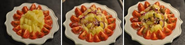 insalata di patate procedimento