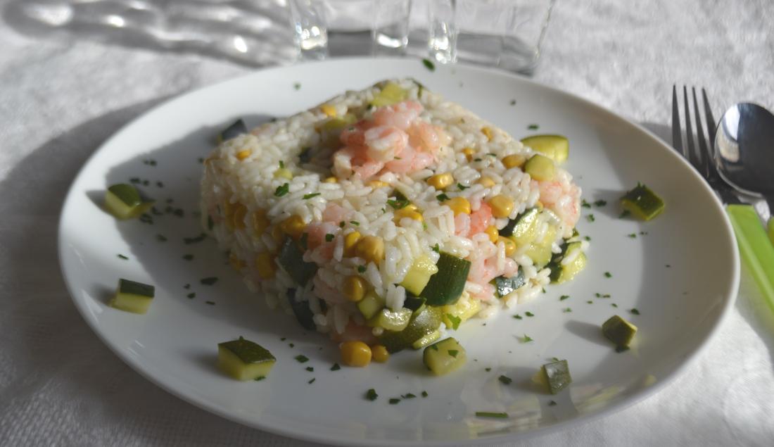 insalata di riso ai gamberetti principale