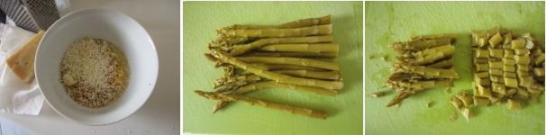 Mini quiche con asparagi veloce