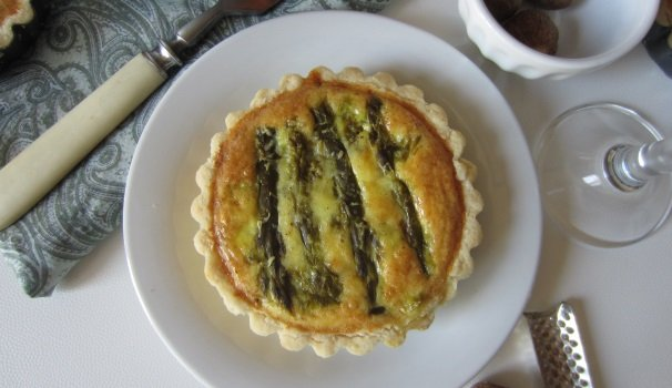 Mini quiche con asparagi