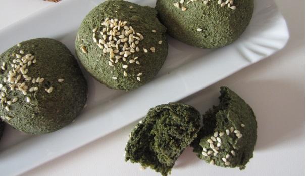 Panini con alga spirulina