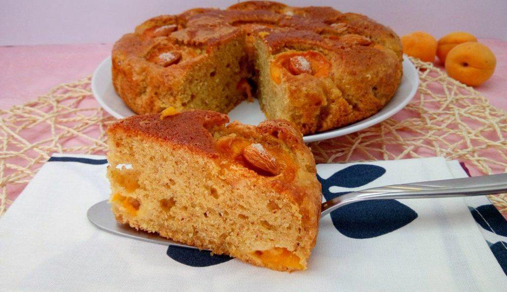 torta di albicocche con bimby ricetta