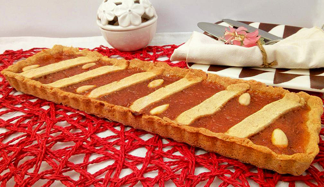 crostata senza burro