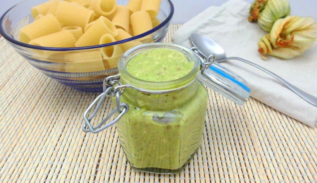 ricetta pesto di zucchine con bimby