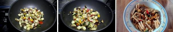 pasta fredda con verdure procedimento