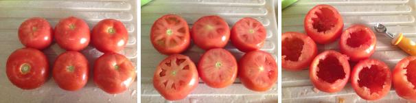 pomodori ripieni di verdure proc 3