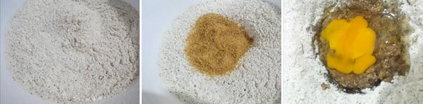 procedimento-1 Biscotti di segale, grano saraceno e farro