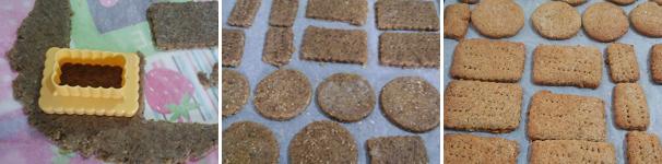 procedimento-3 Biscotti di segale, grano saraceno e farro