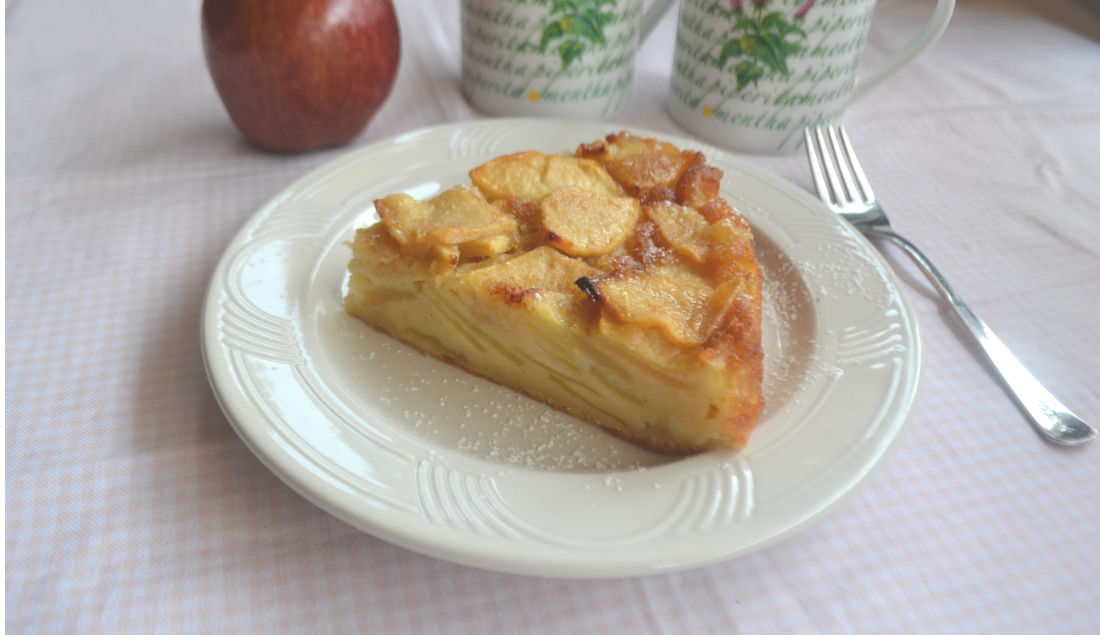 torta di mele cremosa foto principaale
