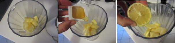 Budino all'ananas veloce