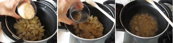 Confettura di pere con zucchero di canna