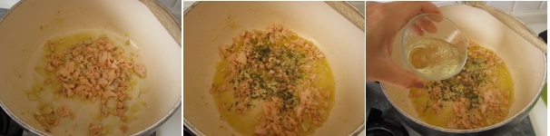 Pasta al salmone veloce