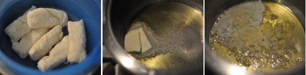 Peperoni ripieni di merluzzo procedimento