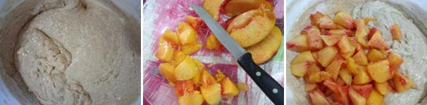 procedimento-3-plumcake-alle-pesche-vegan