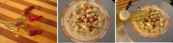 Crostini con tofu piccante veloci