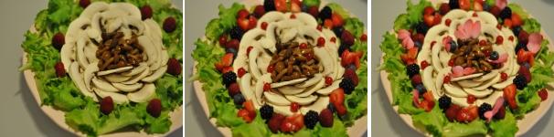 Insalata di frutti di bosco e funghi ricetta veloce