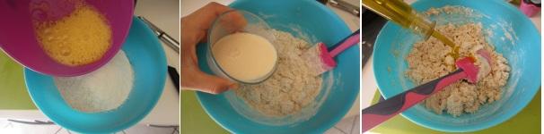 Muffin con tofu, carote e capperi procedimento