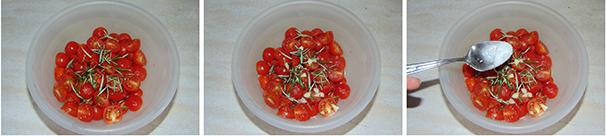 ricetta casalinga pomodorini marinati