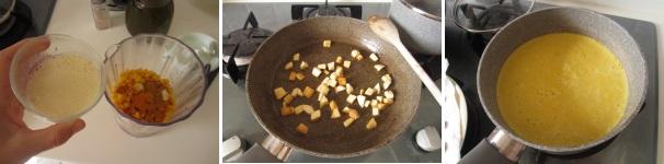 Vellutata di maisc con pollo caramellato buonissima