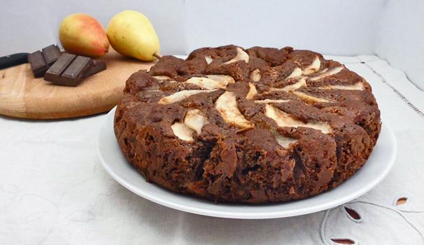 torta di pere e cioccolato con bimby finale