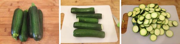 zucchine sott'aceto proc 1