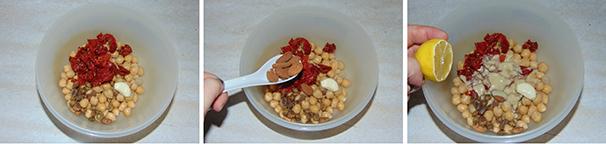 hummus rosso facile