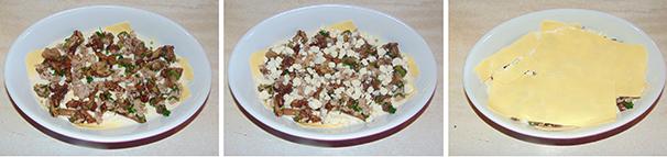 pasticcio di lasagne con salsiccia e poecini facile