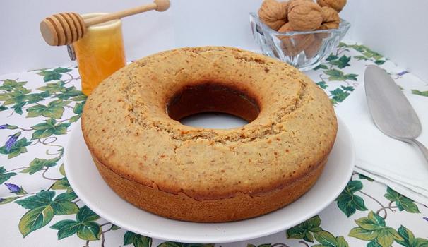 ricetta torta noci e miele