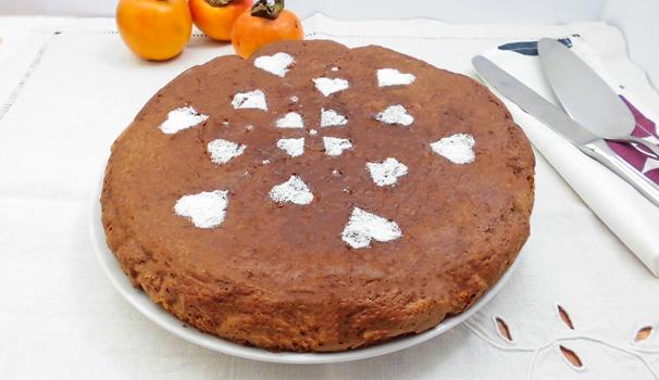 ricetta torta cachi e cacao con bimby