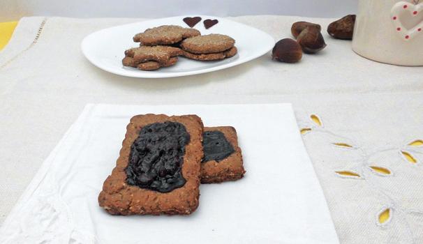 ricetta Biscotti senza glutine con confettura