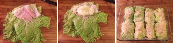 involtini di verza con patate e prosciutto proc 3