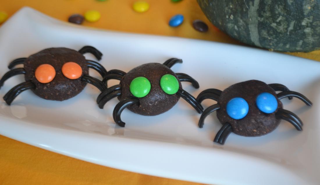 ragnetti di Halloween al cioccolato foto principale