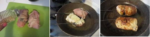 Rollè di tacchino in crosta con prugne secche e liquore buonissimo