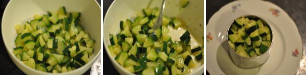 Tartare di zucchine ricetta facile