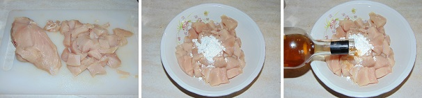 pollo ricetta cinese