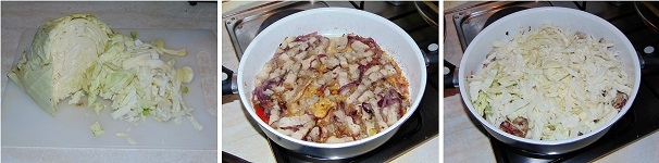 cappuccio e maiale ricetta facile