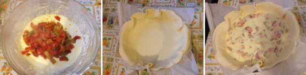 torta salata con peperoni e philadelphia proc 3