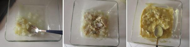 Aringa marinata in salsa di senape squisita