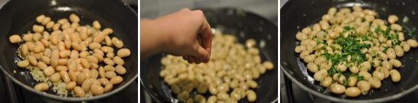 Fagioli alla lionese ricetta passo a passo