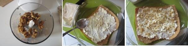 Lasagne integrali con porri, crescenza e noci leggere
