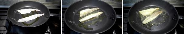 filetti di spigola preparazione