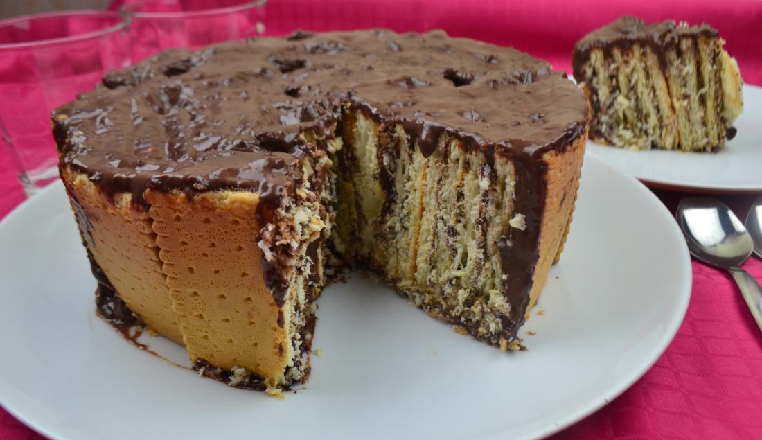 Super Torta di biscotti e budino al cioccoalto IQ31