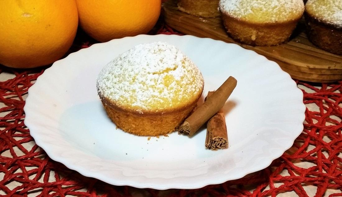 muffins arancia e cannella