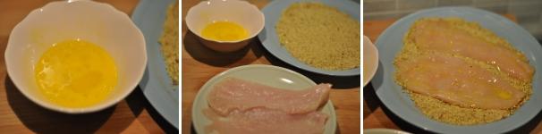 Cotoletta di pollo al pistacchio ricetta veloce