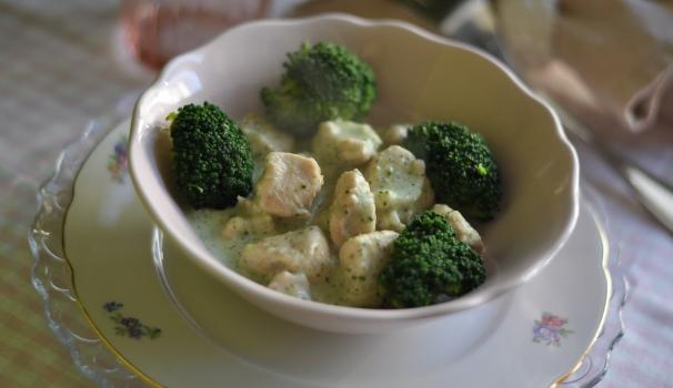 Spezzatino di pollo e broccoli risultato finale