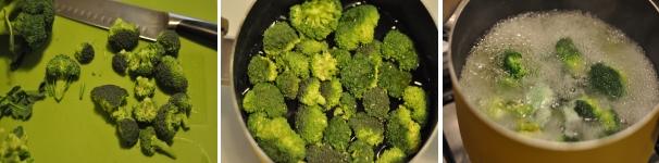 Spezzatino di pollo e broccoli
