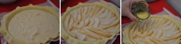 Torta di pere e Roquefort ricetta passo a passo