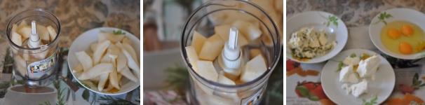 Torta salata di pere e Roquefort